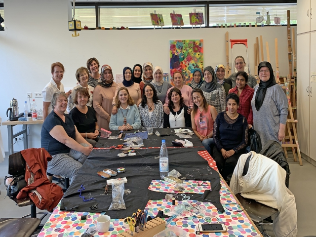 Alman Öğrenciler Ataşehir'de Türk El Sanatlarını Öğrendi