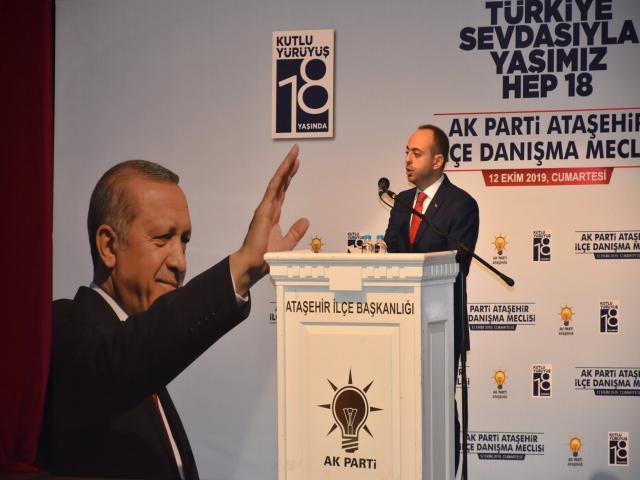 AK Parti Ataşehir Danışma Meclisi'nde Bir İlk Söz Partililerde