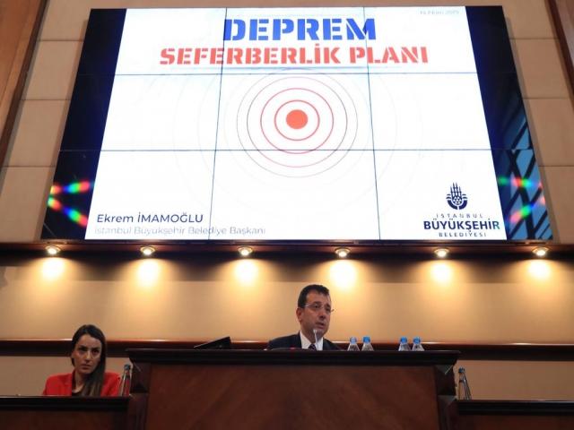 İmamoğlu, İstanbul'da Deprem Seferberliğini Başlatıyoruz