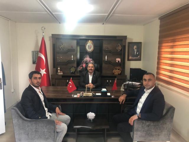 MHP'li Hakan Arıkaya muhtarları ve kamu yöneticilerine yönelik ziyaretlerini sürdürüyor