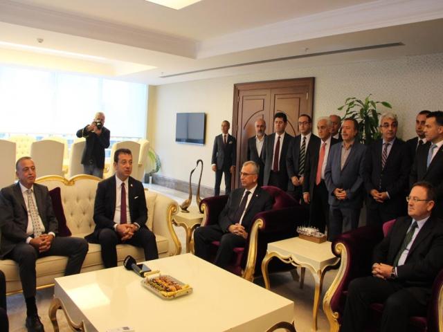 Ekrem İmamoğlu, Ortak Masa İlçe Ziyaretleri kapsamında Ataşehir Belediyesini ziyaret etti