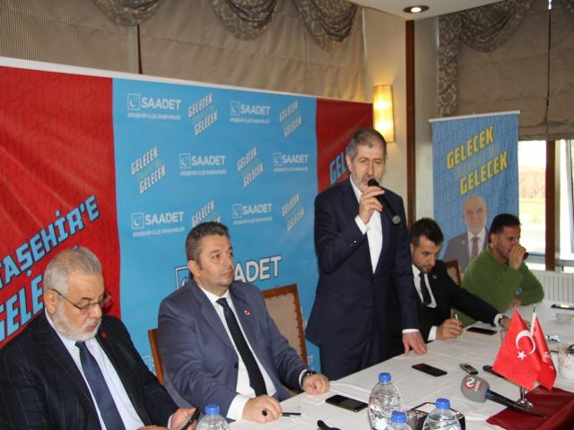 Saadet Partisi Ataşehir STK ve Muhtarlar Buluşması Gerçekleşti