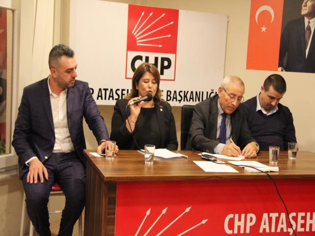 CHP Ataşehir İlçe Başkanlığına Nilüfer Tatar adaylığını açıkladı