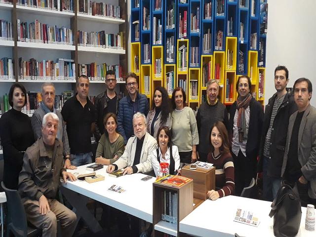 Edebiyat söyleşileri Ataşehir'de Nedim Gürsel ile Sürdü