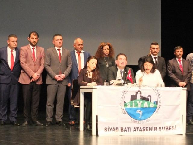 SİYAD Batı Ataşehir Şubesi Genel Kurulu'nda Raci Bal güven tazeledi