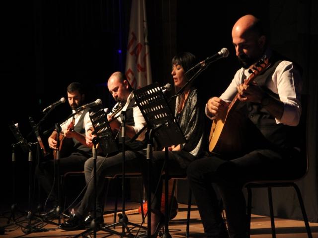 Üç Tel Bir Avaz'la Yola Revan Yılın Son Konserini Ataşehir'de Verdi