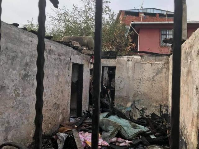 Ataşehir Giresunlular Derneği'nden evi yanan aileye yardım eli