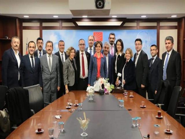 CHP Ataşehir İlçe Yönetiminden Kaftancıoğlu'na Ziyaret