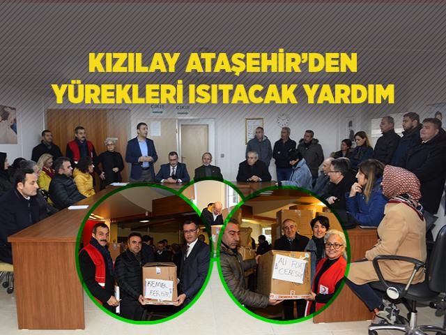 Kızılay Ataşehir Şubesi'nden Kış Vakti Yürekleri Isıtacak Yardım