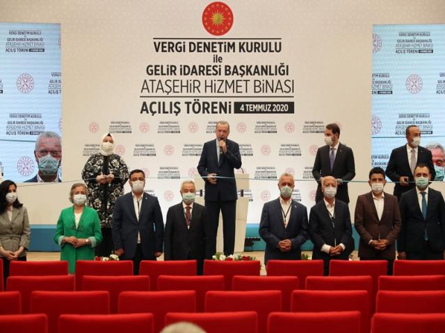 Hazine ve Maliye Bakanlığı Ataşehir Hizmet Binası Törenle Hizmete Açıldı