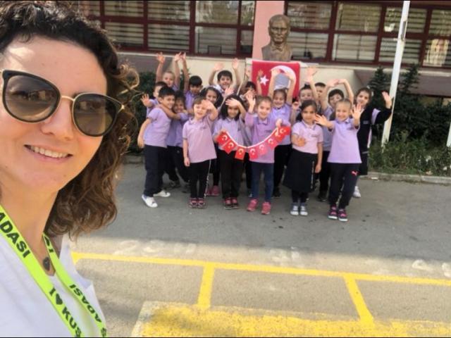 Ali Fuat Cebesoy İlkokulu e-Twinning Projeleri Kapsamında İt's All About ile İlk Çalışmasını Tamamladı