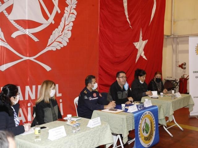 Ataşehir'de orman yangınlarına 'Orman Gönüllüleri' eğitimle müdahale edebilecek