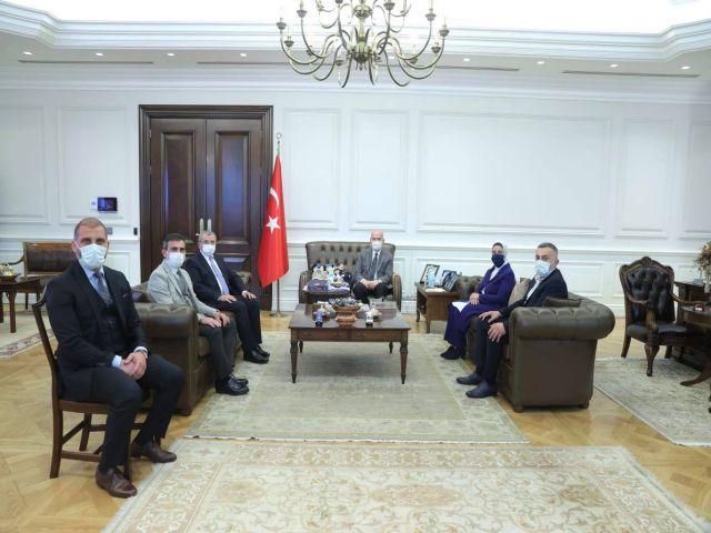 İsmail Erdem ve Ekibi, Ataşehir için Ankara Görüşmelerine Başladılar