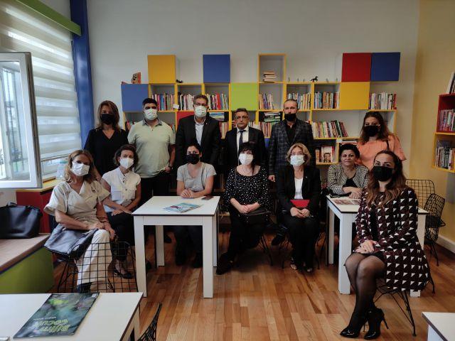 Şehit Cengiz Hasbal Ortaokulu Kütüphanesi Düzenlenen Törenle Hizmete Açıldı