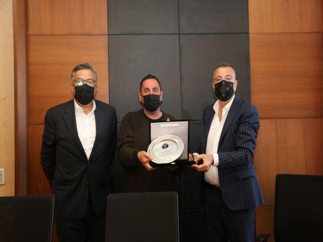 Ataşehir Amatör Spor Kulüpleri Platformu'ndan Başkan İlgezdi'ye Ziyaret