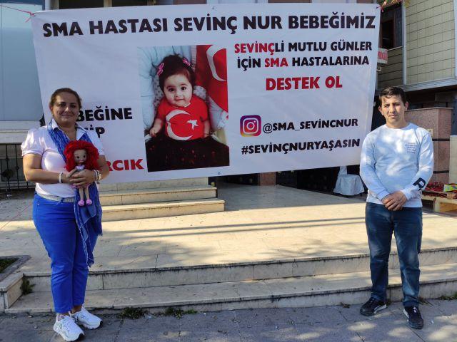 Ataşehir'de SMA Tip 1 Hastası Sevinç Nur Bebek İçin Kermes Düzenlendi