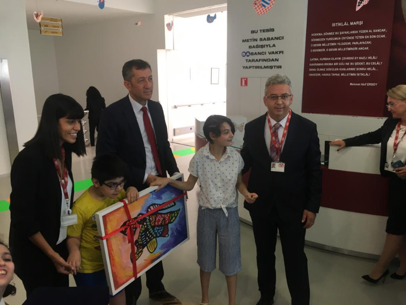 Bakan Ziya Selçuk, Ataşehir'deki o kurumu ziyaret etti