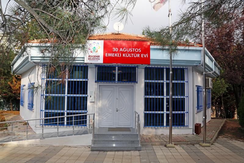Ataşehir'de emeklilik bir başka güzel