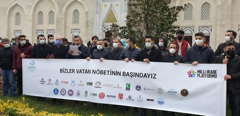 104 Emekli Amiralin Bildirisi'ne Ataşehir'li STK'lardan Sert Cevap