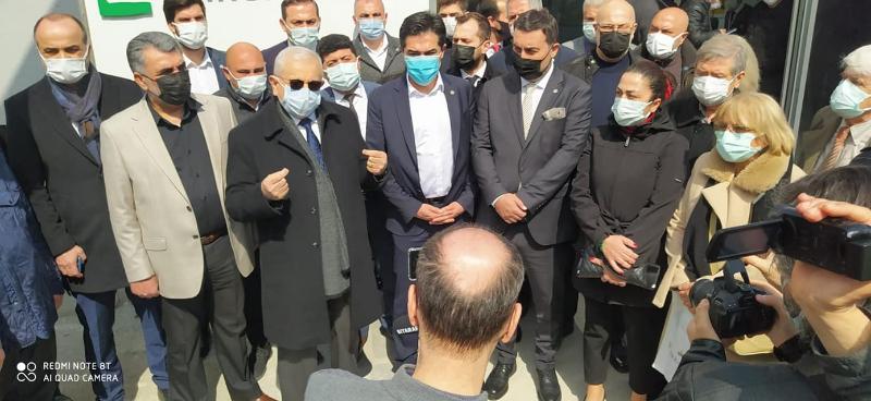 İYİ Partililer Ataşehir'de Kanal İstanbul'un Plan Değişikliğine İtiraz Etti