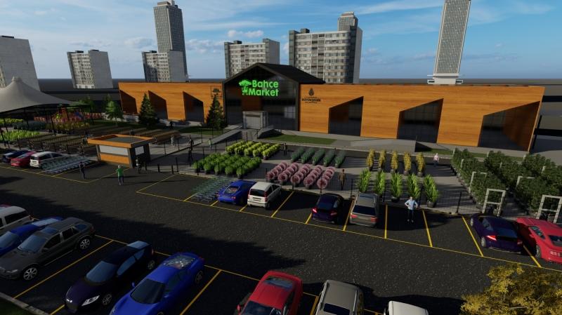 Ataşehir'e Çok Amaçlı Bahçe Market Geliyor