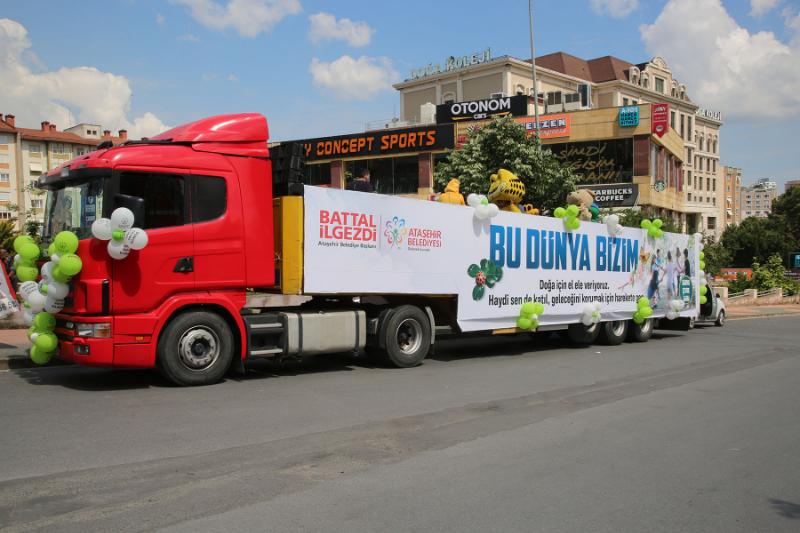 Ataşehir'de 12'nci Çevre Şöleni Düzenlendi