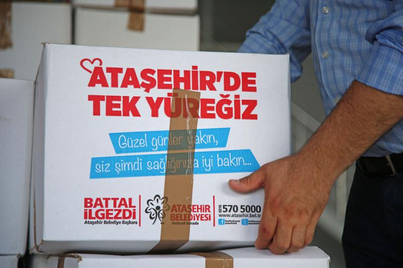 Ataşehir'den Sinop'a Dayanışma ve Yardımeli