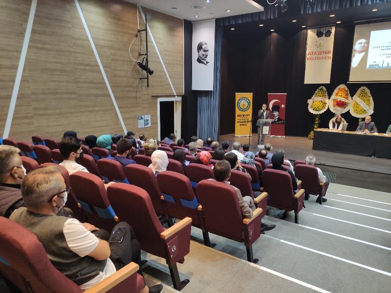 Bayburt Kültür ve Yardım Derneği Ataşehir Şubesi 1.Olağan Kongresi'ni Gerçekleştirdi