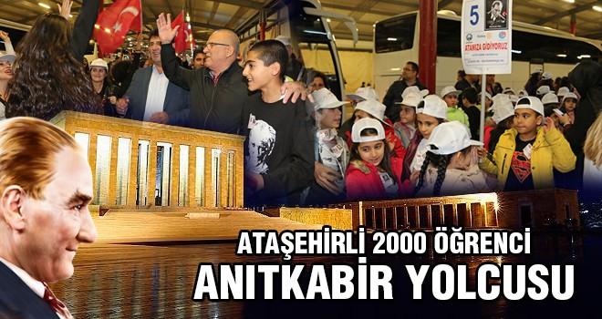 Ataşehir'li Öğrenciler Anıtkabir Yolunda