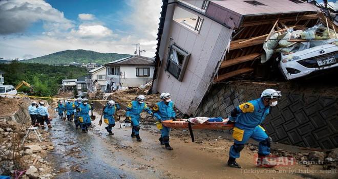 Japonya'da sel felaketi: Ölü sayısı 112'ye ulaştı