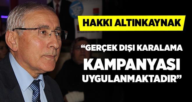CHP Ataşehir İlçe Başkanı Hakkı Altınkaynak'tan önemli açıklama