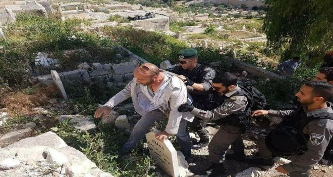 İsrail Polisinin Zulmü Sürüyor