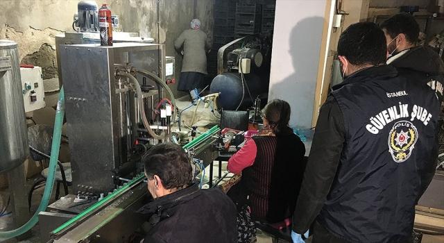 Güvenlik güçleri sahte dezenfektan ve maske üreticilerine göz açtırmıyor