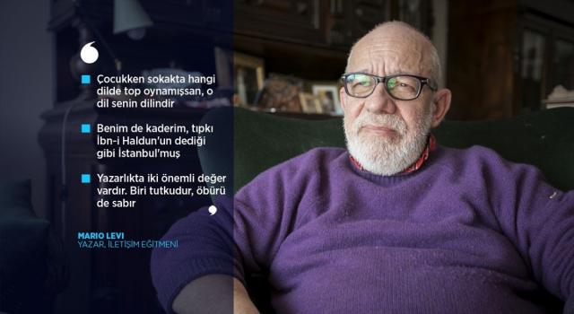 Yazar Mario Levi: Benim en derin vatanım Türkçedir