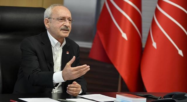 Kılıçdaroğlu üniversite öğrencileriyle video konferans yöntemiyle görüştü