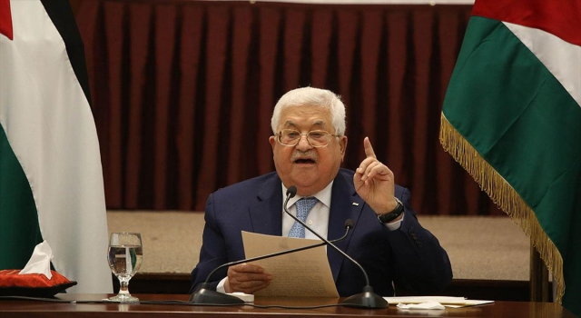Filistin Devlet Başkanı Abbas: İsrail ve ABD ile yapılan anlaşmalara bağlı kalmayacağız