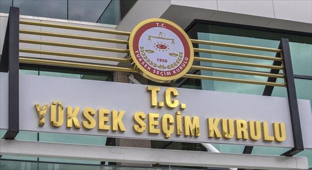YSK 17 partinin seçimlere girme yeterliliğine sahip olduğunu belirledi