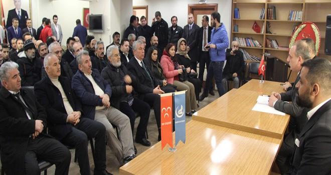 MHP Ataşehir, Derneklerle İstişare Toplantısı Gerçekleştirdi