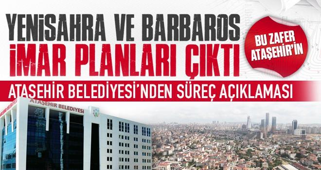 Ataşehir Belediyesi'nden İmar Süreci ile ilgili önemli açıklama!