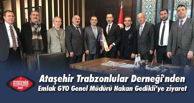 Ataşehir Trabzonlular Derneği'nden Emlak GYO'ya anlamlı ziyaret