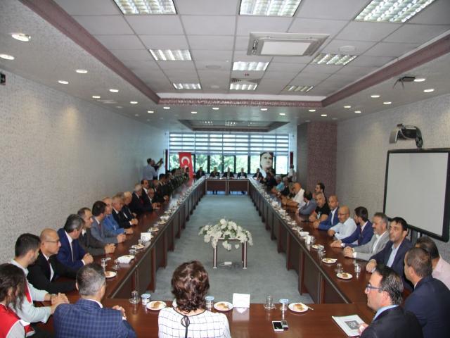Ataşehir'de 30 Ağustos Zafer Bayramı Tebrikat Töreni Gerçekleşti