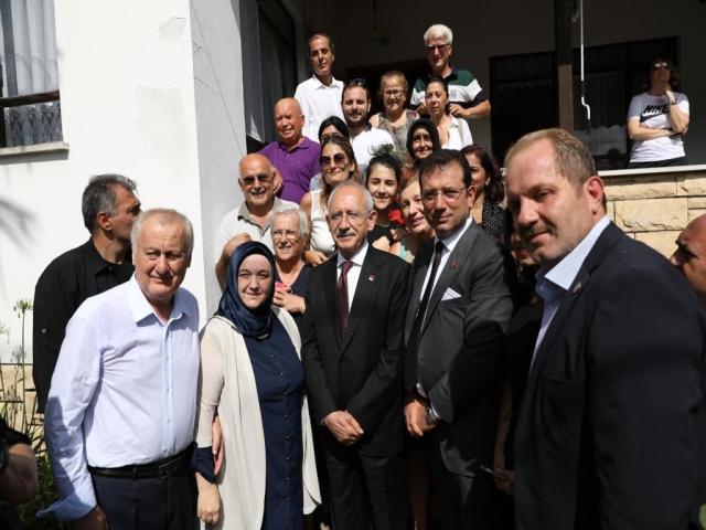 İmamoğlu ve Kılıçdaroğlu'ndan Ümraniye ve Şile'ye Ziyaret