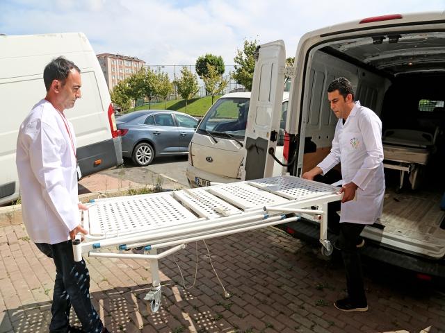 Ataşehir Belediyesi'nden hastalara yardım eli