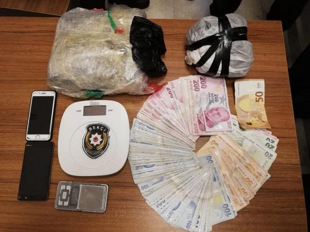Ataşehirde Uyuşturucu Operasyonu