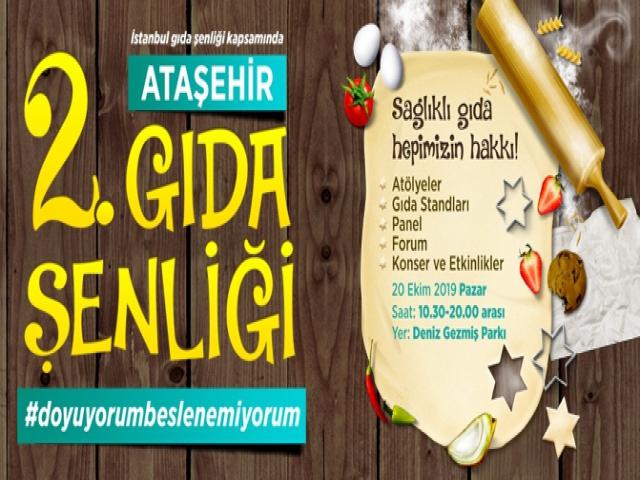 Ataşehir'de 2. Ataşehir Gıda Şenliği Başlıyor