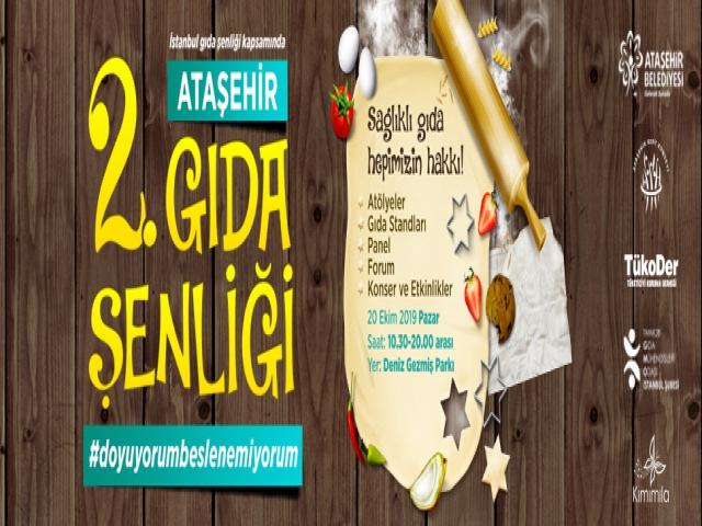 Ataşehir'de gıda şenliğine davetlisiniz
