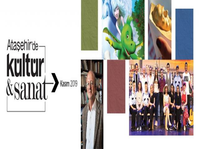 Ataşehir'de Kasım Ayı Kültür Sanat Programları Belli Oldu