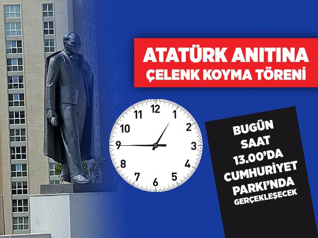 Ataşehir'deki Cumhuriyet Bayramı Çelenk Koyma Töreni'nde Önemli Değişiklik