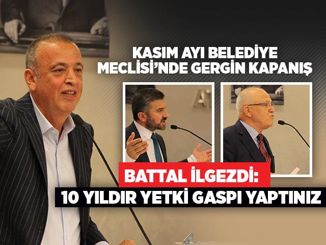 Ataşehir Belediye Meclisi Kasım ayı son toplantısı gerginlikle sona erdi!