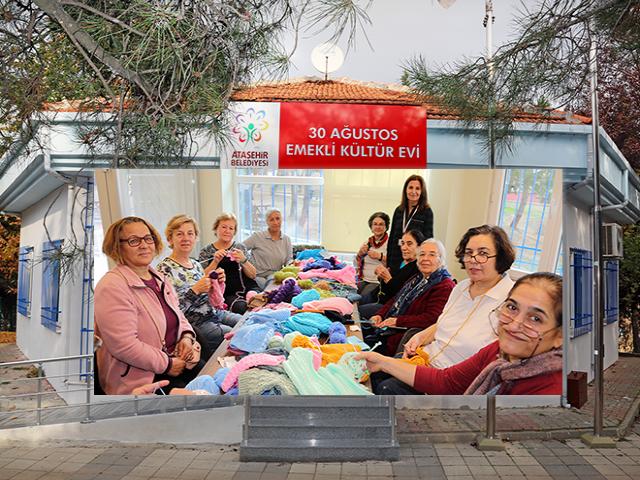 Ataşehir'de emeklilik bir başka güzel yaşanıyor